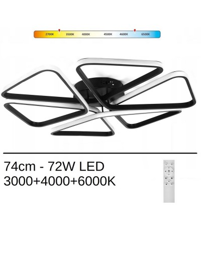 Lampa led PIZZA 72W XL259