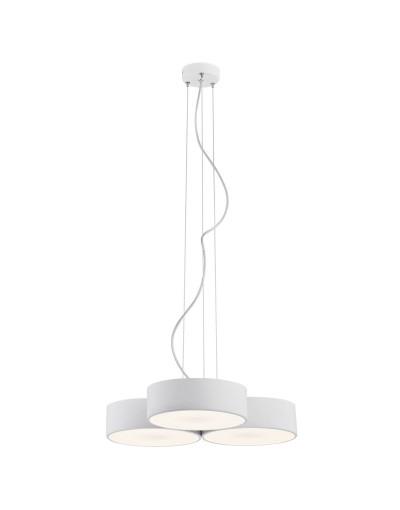 Biała lampa wisząca Argon...