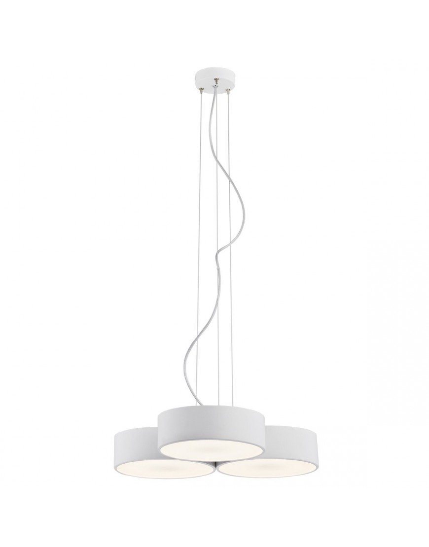 Biała lampa wisząca Argon DARLING LED 1222