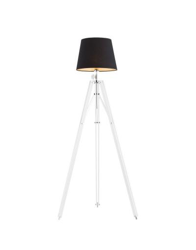Biała lampa podłogowa Argon...