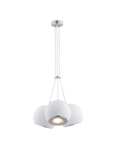 Biała/Chromowana lampa...
