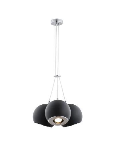 Czarna/Chromowana lampa...