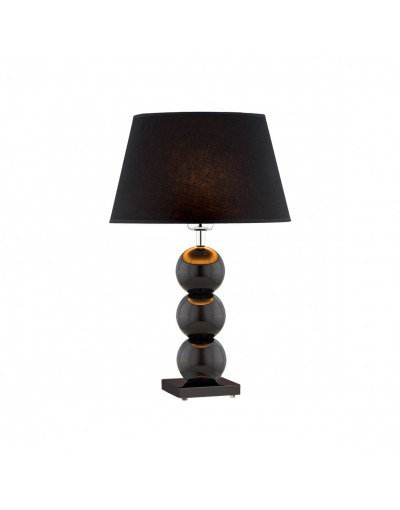 Czarna lampa nocna Argon...