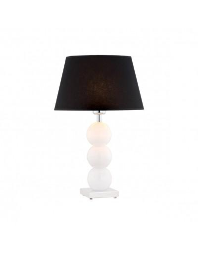 Biała lampa nocna Argon...