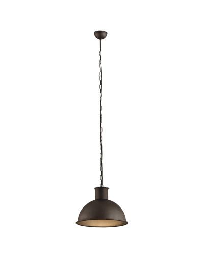 Miedziana lampa wisząca...