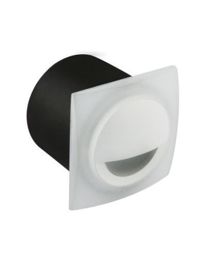 IDEUS KAMI LED D 3,5W WHITE 5700K 3124 - biała oprawa schodowa