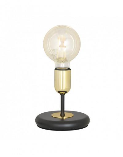 czarna - metalowa lampa...